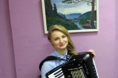Томилина Д,О. Участие в Благотворительном аукционе ДХШ 12.2014